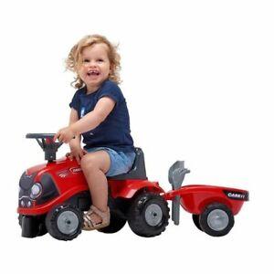 Rutscher Traktor Babyfarmer Case IH rot mit Anhänger ! Neu & Ovp!!