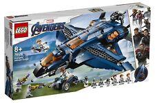 LEGO Marvel Avengers ENDGAME 76126 Avengers Ultimate Quinjet Black Widow Hawkey