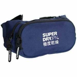 Men's Superdry Small Bum Bag Downhill Blue