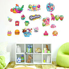 Shopkins Wall Sticker Removable Decal Nursery Girls Party Decor Gift Fruit  Fries Part 65