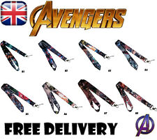 Marvel avengers lanyard keycard id badge holder cartoon lanyard