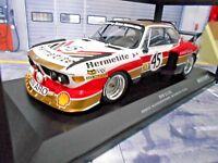 BMW 3.5 CSL Le Mans 1976 #45 Hermetite Walkinshaw Fitzpatrick Minichamps 1:18