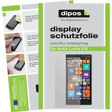 1x dipos Nokia Lumia 930 Protector de Pantalla protectores mate