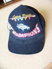 Denver Broncos SB Super Bowl XXXII 32 Champions black baseball cap hat