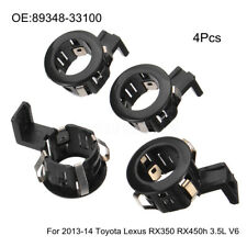 4x PDC Parking Sensor Retainer For 2013-2014 Toyota Lexus RX350 RX450h 3.5L