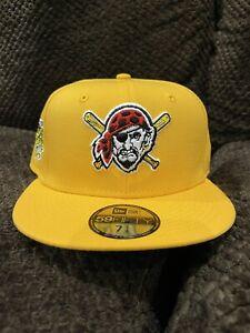 Pittsburgh Pirates 2006 ASG Gold Green UV 7 1/4 New Era Jolly Roger Brand New
