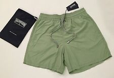 New w Tags & Bag Authentic Vilebrequin Moorea Swim Trunks Green for Men Size M