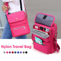 Fashion Women Men Nylon Crossbody Shoulder Bag Travel Handbag Satchel Tote