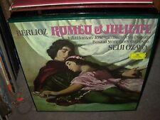 OZAWA / BERLOZ romeo & juliette ( classical ) 2 lp box set dgg