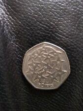 1998 European Union 50p coin - fifty pence circulated coin