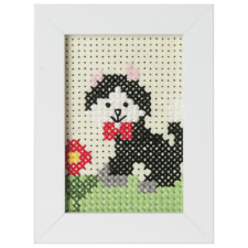 Groves Cat Cross Stitch Kit