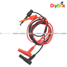 Banana Plug To Test Hook Clip Probe Cable For Multimeter Test Equipment D