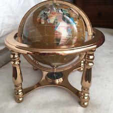 Lapis Handcrafted Gemstone Globe