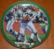 """Joe Namath: The Guarantee "" The Great Super Bowl Quarterbacks Iii Jets / Colts"