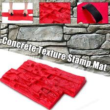 Slate Seamless Texture Polyurethane Stamp Mat Concrete Cement Stone Wall Mat