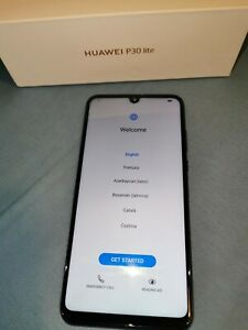 Huawei P30 Lite MAR-LX3A - 128GB - Peacock Blue (Unlocked) (Single SIM) (CA)