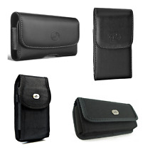 """Pouch for Apple iPhone 4S, 4, 3GS or 3G (3.5"""") phone with a protective case on"""