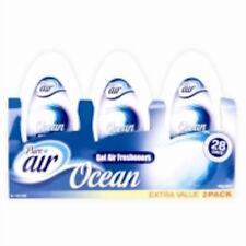 2 x Confezione da 3 blocco solido GEL CAMERA CASA AUTO bagno Deodoranti oceano