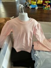 Organically Grown Made In India. Shirts For. GirlsSize 2. Pink Color . Lot Of 3