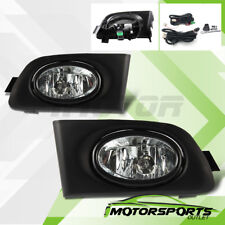 For 2001 2002 2003 Honda Civic 2DR/4DR Coupe Sedan JDM Fog Lights+Switch+Wiring