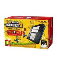 Consolas de videojuegos azules wi-fi de Nintendo DS