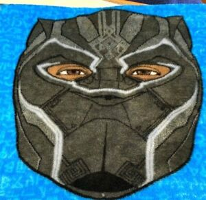 "Marvel Black Panther Soft Plush Fleece Throw Blanket 40"" x 50"" Authentic"