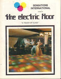 The Electric Floor Sensations International Advertisement  020218DBE