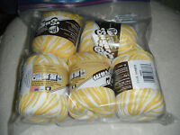 "5 Skeins, Lily, ""Sugar 'N Cream, Daisy Ombre, Crochet & Knitting, Cotton Yarn"
