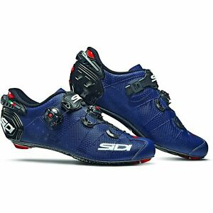 Sidi Wire 2 Carbon Bicycle Cycle Bike Road Shoes Matt Blue / Black / Navy