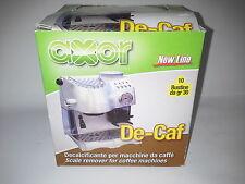 decalcificante macchine caffè universale 10 bustine manutenzione anti calcare