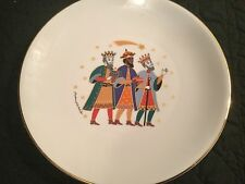 Hutschenreuther Germany Christmas Furstenhofer Plate 9.75 Three Kings EXC
