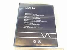 CATALOGO ORIGINALE LANCIA MEZZI DI LAVORO 1991 RIF2 PER OFFICINA