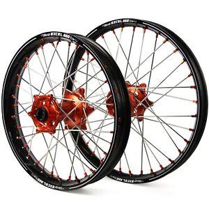 Excel MX KTM EXC-EXCF 03-20 Black/Orange A60 Motocross Wheel Set