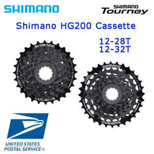Shimano Tourney CS-HG200 7-Speed 12-28T 12-32T Cassette Black MTB