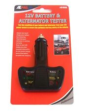 Ate Pro Tools 12V Battery & Alternator Tester 12 Volt Cigarette Lighter Socket