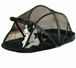 Pet Crate Tent Kennel Foldable Puppies House And Accessories With Mosquito Net