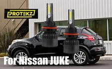 LED JUKE 2011-2014 Headlight Kit 9007 HB5 6000K White CREE Bulbs High&Low Beam