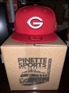 Greeneville Reds MiLB New Era Home 59Fifty Cap Hat Mens Size 7 3/4 Cincinnati
