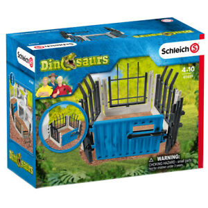 Schleich Dinosaurs Extend-A-Fence Accessory Pack Research Station Extra Fencing