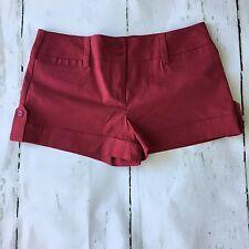 Women's Short Red Short Size 5  I. N. San Francisco