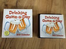 2013 Drinking Game-a-Day Page Day Calendar