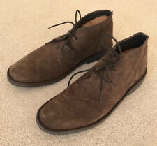 MEN'S CHUKKA BOOTS BROWN SUEDE LACE UP STYLE BROWN SUEDE LEATHER UK EU 43 SPAIN