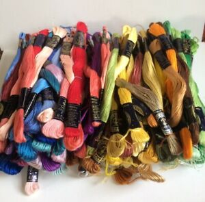 Embroidery Thread Clark's Anchor Stranded Cotton Assorted Colours 128