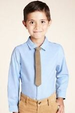 Marks and Spencer 100% Cotton Shirts (2-16 Years) for Boys