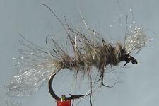 10x Mouche Chiro Shipman Lievre H14/16 fliegen mosca hare fly