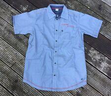 S.Oliver, Kurzarm-Hemd, Sommer, Gr. 176, jeans-blau, neu und ungetragen!