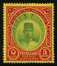Malaya Tregganu  1938   Scott # 38   Mint Lightly Hinged  - Tiny Stain