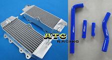 For Yamaha YZF250 YZ250F YZF 250 02 03 04 05 2005 aluminium radiator and hose