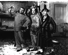 The Three Stooges Larry Moe and Curley 8x10 B&W Photo SP200