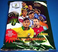 Panini Adrenalyn WM 2014 Brasilien - Starter + Limited Messi - Sammelmappe